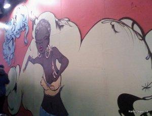 Times Square Mural by Sofia Maldonado