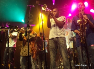 Rebirth Brass Band @ Highline Ballroom (04.01.10)