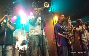 Rebirth Brass Band @ Highline Ballroom (04.10.10)