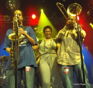 Rebirth Brass Band @ Highline Ballroom (04.10.10)