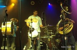 Rebirth Brass Band @ Highline Ballroom (04.01.10)