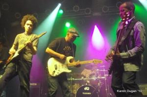 Ian Neville, Ivan Neville & Tony Hall @ Highline Ballroom (04.01.10)