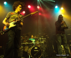 Ian Neville, Nikie Glaspie, Maurice Brown @ Highline Ballroom   (04.01.10)