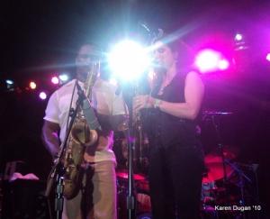 Karl Denson and Jessica Lurie @ The Broooklyn Bowl
