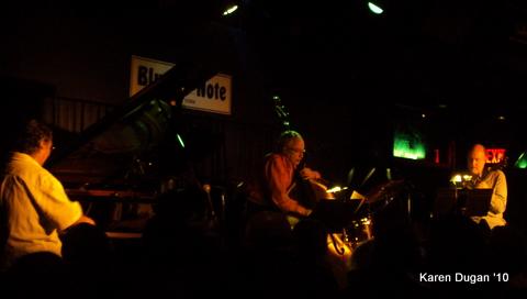 Chick Corea, Eddie Gomez, and John Scofield @ The Blue Note