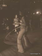 Dancing and Hula Hooping
