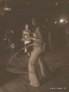 Dancing and Hula Hooping