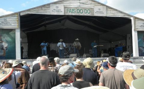 Geno Delaflose & French Rockin' Boogie @ Fais Do Do Stage, Jazz Fest 2010