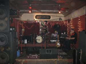 Maple Leaf Bar Stage