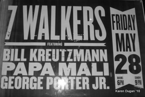 7 Walkers @ The Brooklyn Bowl