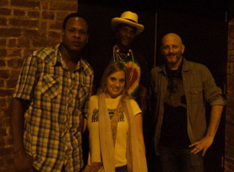 Corey Henry, Cyril Neville and Ben Ellman of Galactic! (06.03.10)