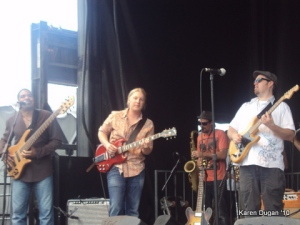 Oteil Burbridge, Derek Trucks and Eric Krasno @ Mountain Jam