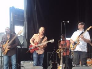 Oteil Burbridge, Derek Trucks and Eric Krasno @ Mountain Jam