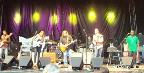 Warren Haynes with Derek Trucks and Susan Tedeschi Band @ Mountain Jam