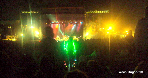 Gov't Mule (& Green light guy) @ Mountain Jam