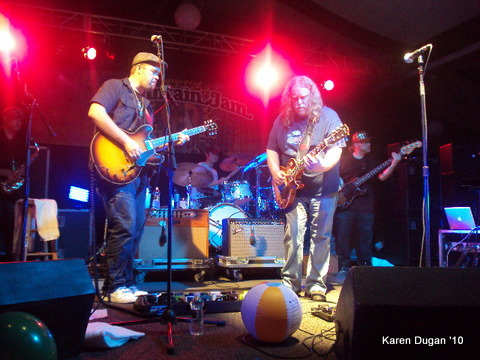 Warren Haynes and Eric Krasno @ Mountain Jam