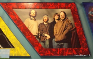 Phish on All Star Wall Backstage @ Comcast Theater, Hartford, CT
