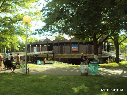 The beautiful venue ~ SPAC!