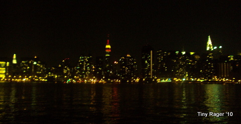 The view from the boat...I need a better camera