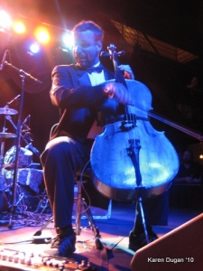 Sam Bass on Cello @ Brooklyn Bowl
