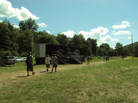 The Camel Trailer on way to Main Entrance