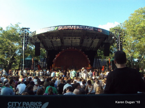 Central Park's Summerstage