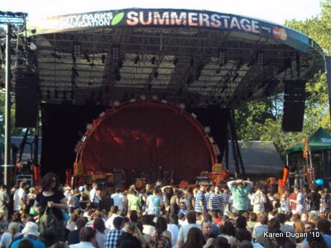 Central Park's Summerstage