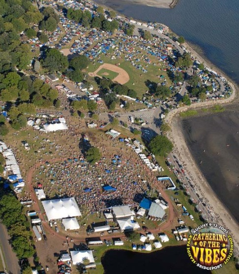 The Festival Grounds @ Seaside Park, Bridgeport, Ct.