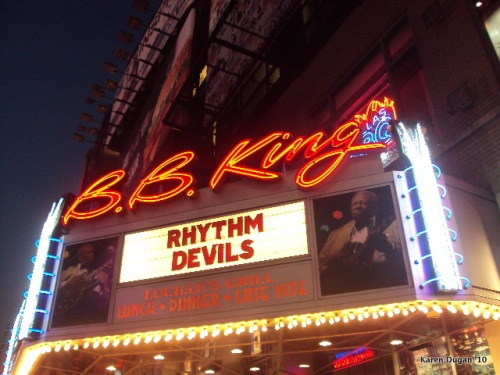 Welcome to B.B. Kings Times Square