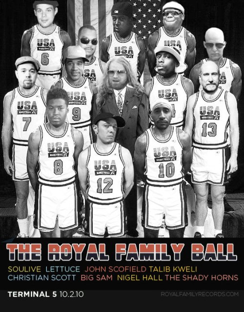 Event Poster: The Royal Family Dream Team