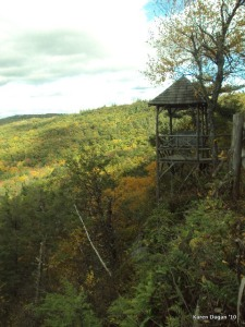 View from Mohonk Mountain hike