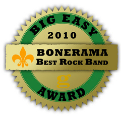 Bonerama 2010 Best Rock Band Award