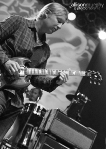 Derek Trucks + Marc Quinones  (Photo by Allison Murphy)