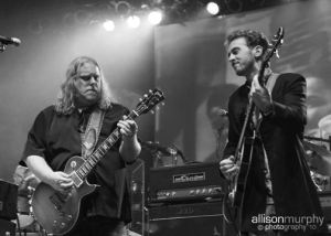 Warren Haynes + Berry Oakley Jr (Photo by Allison Murphy)
