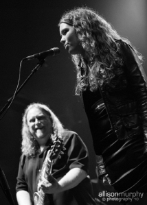 Warren Haynes + Savannah Woody (Photo by Allison Murphy)