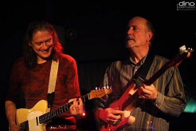 Robben Ford & John Scofield - The Blue Note, NYC 12110 (Photo by Dino Perrucci)