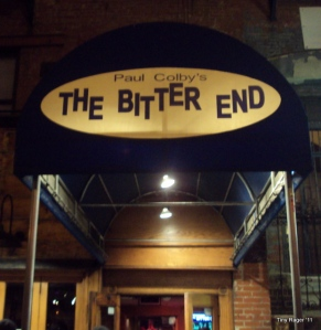 The Bitter End, East Village, NYC