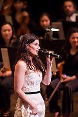 Idina Menzel debuts the NY Philharmonic
