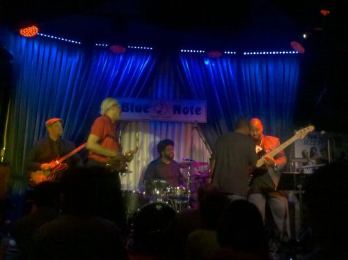 Whole Group @ Blue Note (Photo by TinyRager)