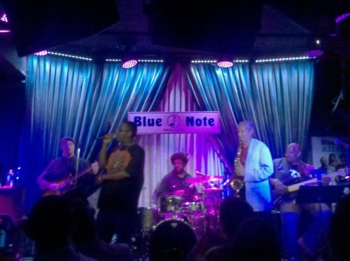 Whole Group w/ Nigel @ Blue Note (Photo by TinyRager)