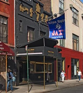 The Blue Note Venue Front