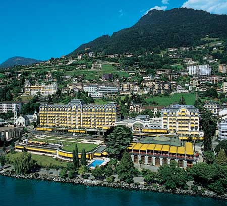 Fairmont LeMontreux Palace - GORGEOUS!!!