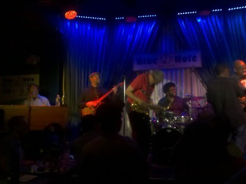 Look at Those Happy Faces @ Blue Note (Photo by TinyRager)