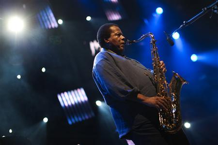 Wayne Shorter during The Miles Davis Tribute @ The Montreux Jazz Festival