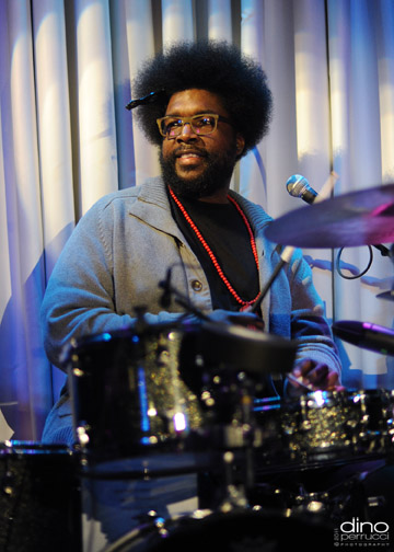 Questlove @ The Blue Note (Photo by Dino Perrucci)