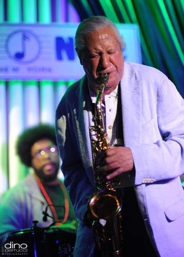 Gary Bartz @ The Blue Note (Photo by Dino Perrucci)