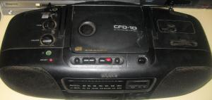 My 1992 Sony CD Player :)