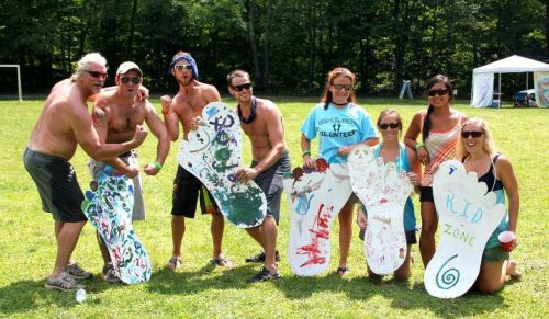 Hippie Olympics Participants & Winners