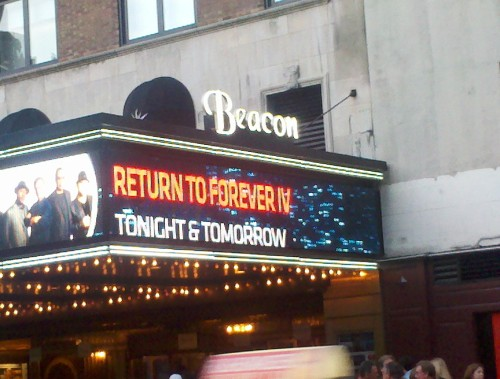 The Beacon Theater marquis