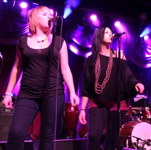 Mel Flannery and Alicia Chakour ~ Pic by Josh Raskin
